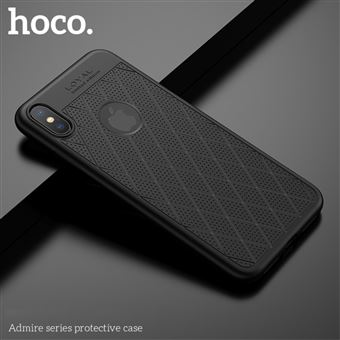 coque iphone xs noir mat
