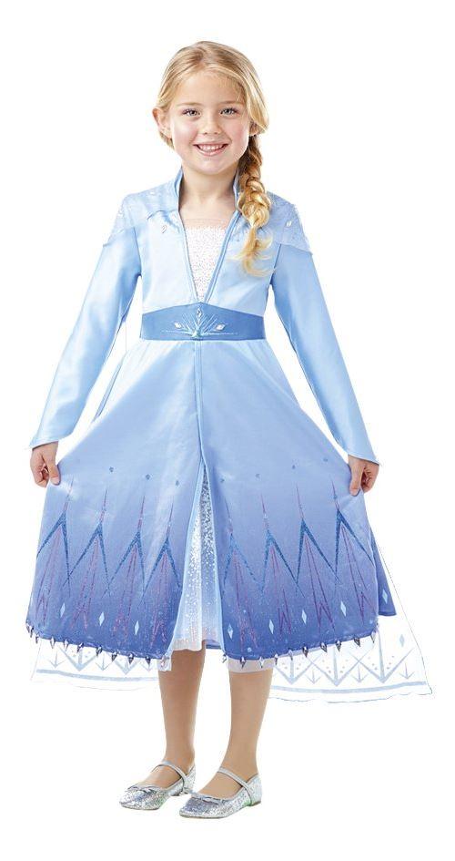 Costume classique La Disney Reine des neiges Elsa Taille S