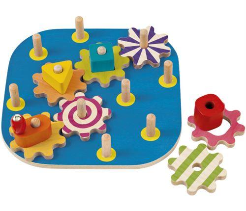 Selecta Spielzeug jouets d'activité junior 20,5 cm en bois 12 pièces