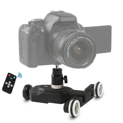 Caméra sans fil automatique Dolly piste Curseur Dolly Guide de l'Auto piste pour reflex numérique