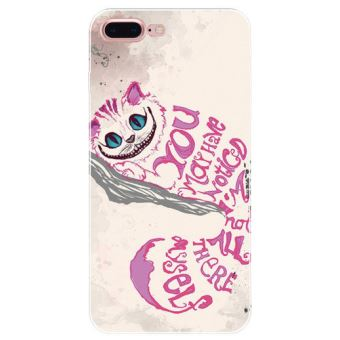 coque iphone 7 rose chat
