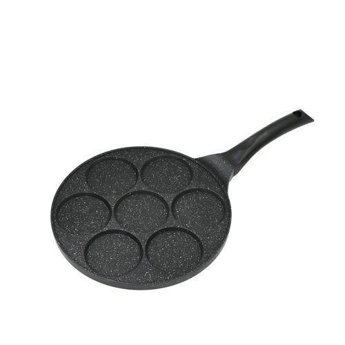 Poêle 7 Mini Blinis, Pancakes Ou œufs 26cm Tfi Bl770 Kitchencook