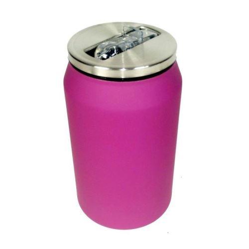 Mug canette isotherme rubber 280 ml - Violet