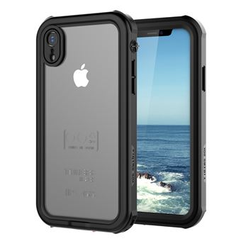 Coque Etanche iPhone Xr Noir