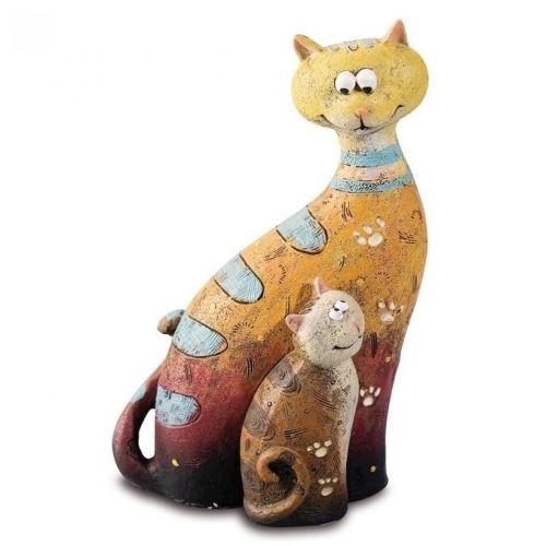 Chat déco marrant - 15 cm