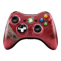 CONTROLLER WIRELESS RED - TOMB RAIDER EDITION X360 -