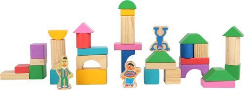 Small Foot blocs de construction en bois Rue Sésame 150 pièces