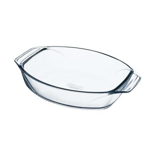 Pyrex 8010664 plat à four ovale en verre ultra résistant prise en main facile 30x21 cm