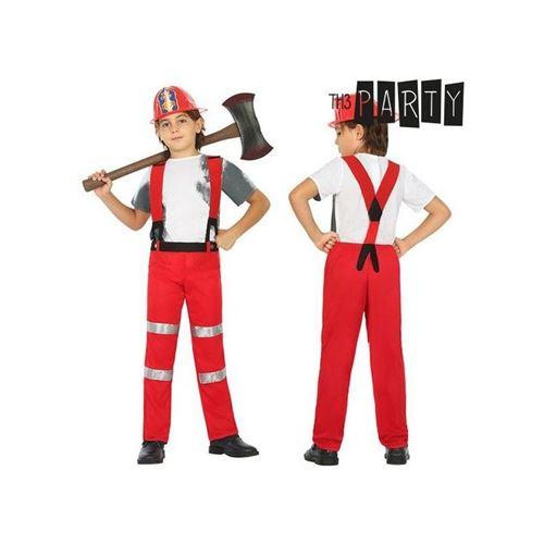 Déguisement pour Enfants Sapeur-pompier (2 Pcs) (Taille 3-4 Ans)