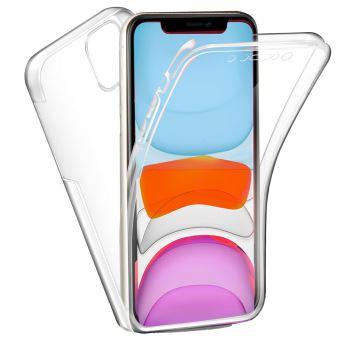 Coque 360 degrés Apple iPhone 11 6,1 pouces Protection intégrale arrière PC Case et Avant TPU Transparente Smartphone 2019 - Accessoires Pochette ...