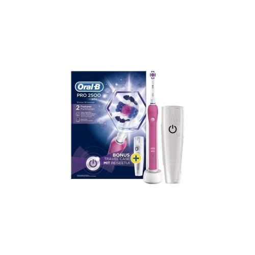 Brosse a Dents Électrique - Oral-B Pro 2500 3DWhite par Braun