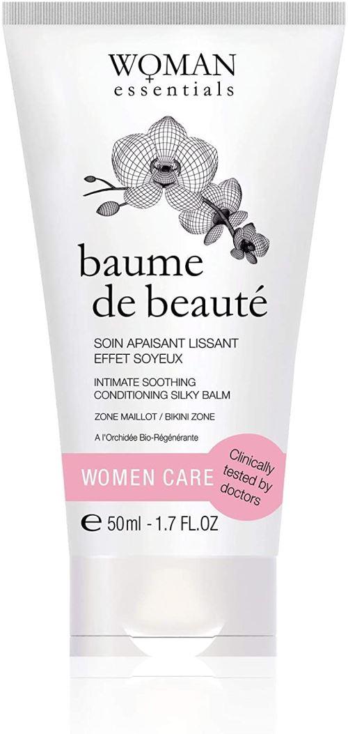 Baume De Beauté Zone Intime - Crème Hydratante Cicatrisante. Soin intime apaisant post épilation ou massage cicatrices post-grossesse. Effet Conditionneur bikini - 50 ml. Toilette et soin intime quotidien. 100% Made in France.