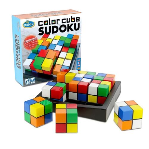 Thinkfun Jeu de logique Sudoku Cube Couleur 541560