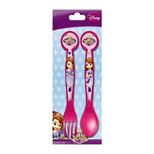 Couvert, cuillère et fourchette Princesse Sofia Disney enfant bébé