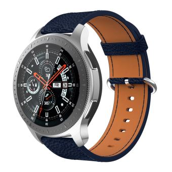 bracelet cuir samsung galaxy watch 46mm
