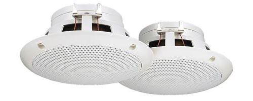 Paire de haut-parleurs encastrables Monacor CRB-130/WS