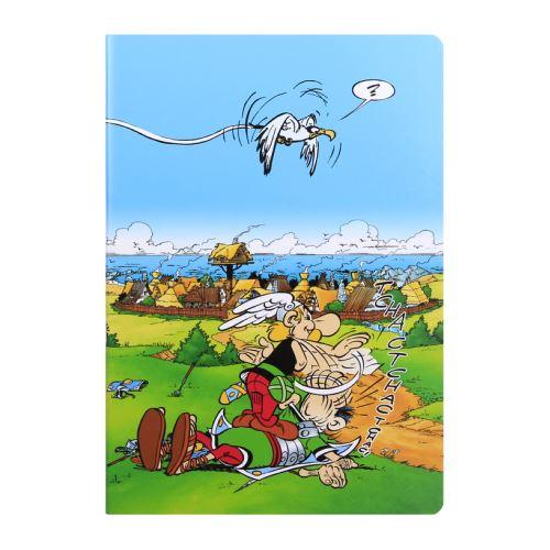Cahier Piqué A4 - 96 pages Séyès - Astérix et Obélix - Astérix