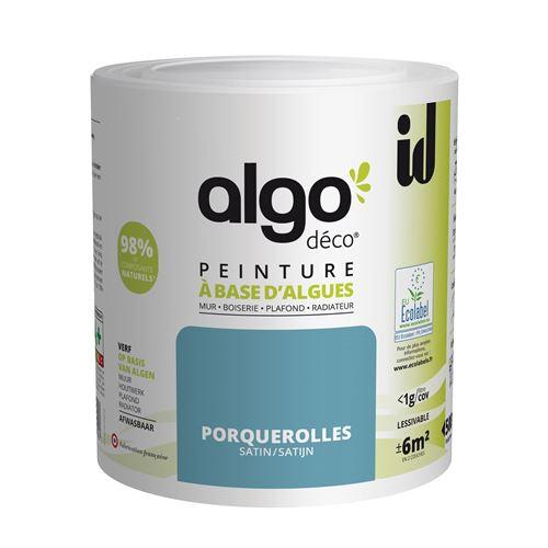 Peinture à Base D'algues Algo Satin Porquerolles 500ml