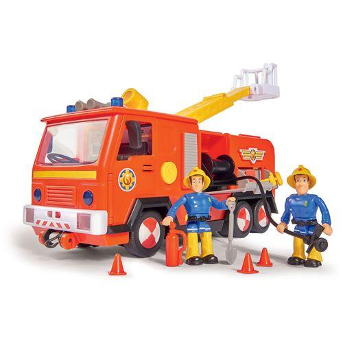 Simba Toys 109251036 Sam - Camion Jupiter incl. 2 Figurines