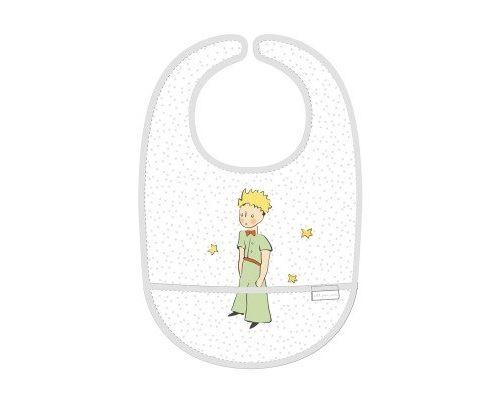 Bavoir toile cirée étoile le petit prince - petit jour