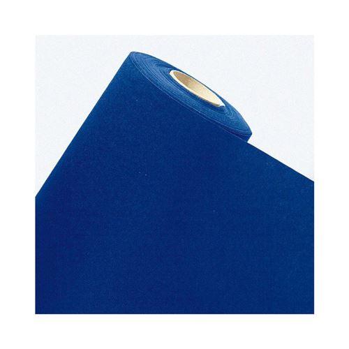 nappe papier intissé rouleau 10x1.2m bleu royal
