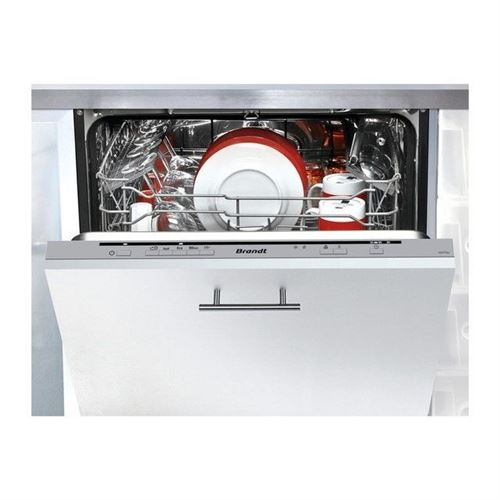 Brandt VH1772J - Lave-vaisselle - intégrable - Niche - largeur : 60 cm - profondeur : 58 cm - hauteur : 82 cm