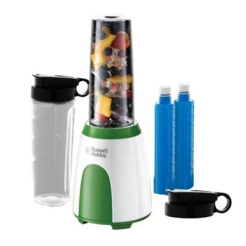 Russell hobbs explore robot mixer vert, blanc 300 w (25160-56) mix & go cool 25160-56