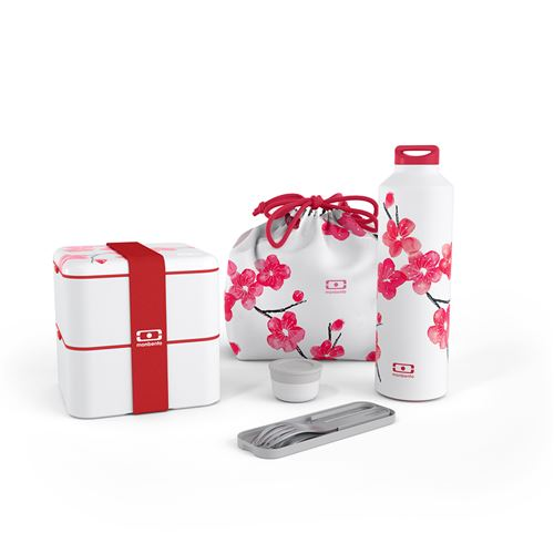 Pack Monbento lunch box Blossom