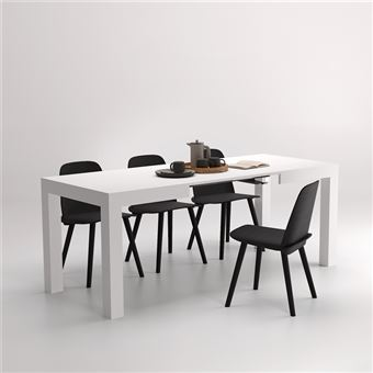 Mobilifiver Table Extensible Cuisine, First, Frêne Blanc, 120 X 80 X 76 Cm,  Mélaminé, Made In Italy   Achat U0026 Prix | Fnac