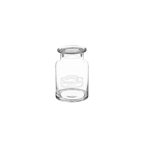 Bonbonnière en verre - Epicerie fine - H 22 cm