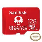 Carte microSDXC SanDisk 128 Go pour Nintendo Switch