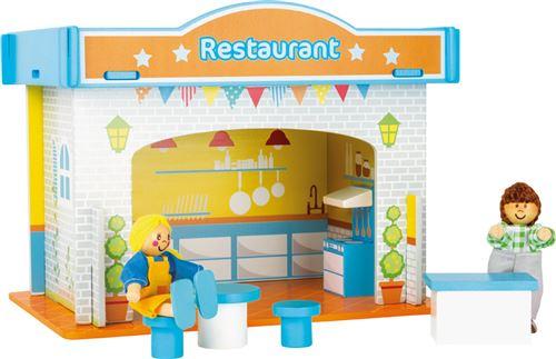 Monde De Jeu Restaurant Et Ses Accessoires
