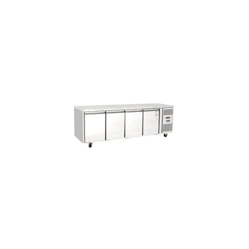 Table réfrigérée négative 4 portes 510 l