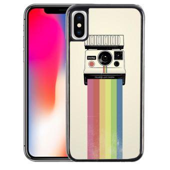 coque iphone xs max rainbow