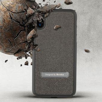 coque textile iphone x