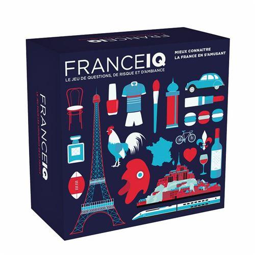 HELVETIQ Jeux - France Iq Multicolore