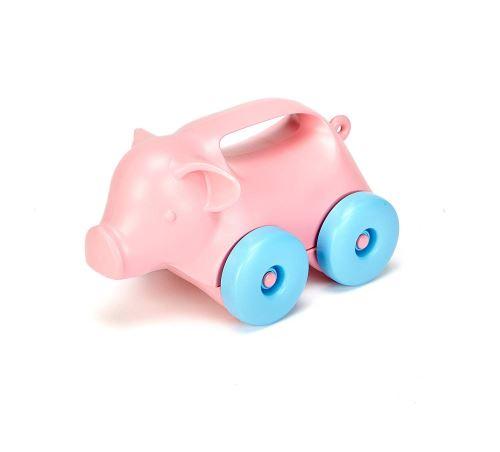 Green Toys 66072 - Jouet À Tirer - Pig