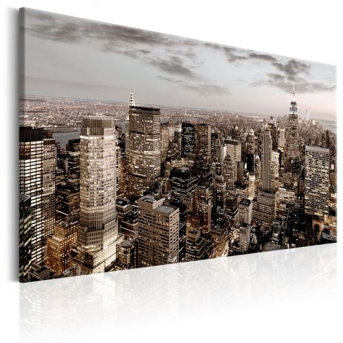 Tableau - New York at Dawn .Taille : 120x80