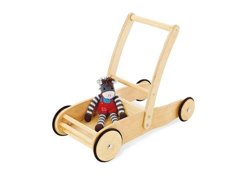 Pinolino ULI Chariot de marche bois naturel