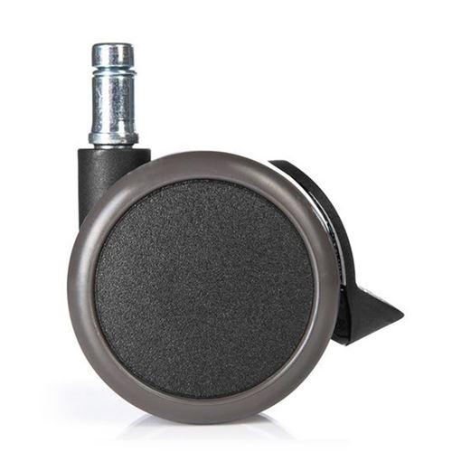 11mm mm Roulettes STOP ROLO avec frein hjh Roulettes stationnement 5x 65 OFFICE durs de pour sols NknOPXZ80w