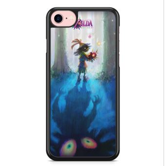 Coque iPhone 7 et iPhone 8 The Legend of Zelda Majoras Mask Skull Kid Nintendo