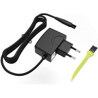Chargeur Rasoir électrique Philips 15V 500mA Adaptateur Secteur Alimentation pour Philips Norelco HQ8505 QP6520 RQ AT PT Series,678 series,