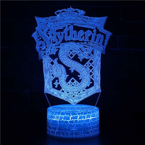 Lampe 3D Tactile Veilleuses Enfant 7 Couleurs avec Telecommande - Harry potter #249