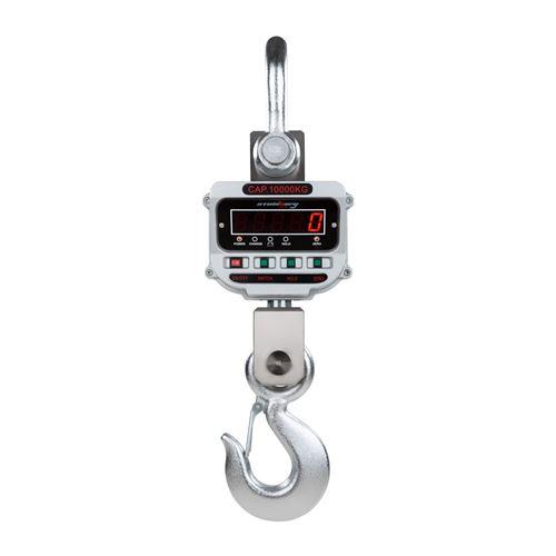 Crochet peseur industriel professionnel 10t / 2kg - LED