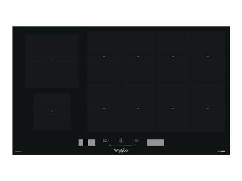 Whirlpool SMP 9010 C/NE/IXL - Table de cuisson à induction - 10 plaques de cuisson - Niche - largeur : 84 cm - profondeur : 49 cm - noir - sans cadre