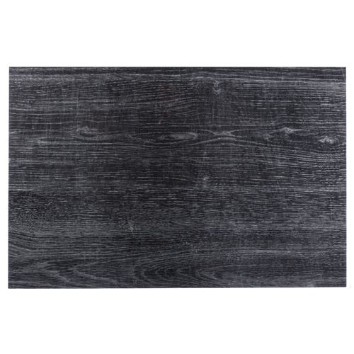 Set de table design bois Authentic - L. 30 x l. 45 cm - Eben