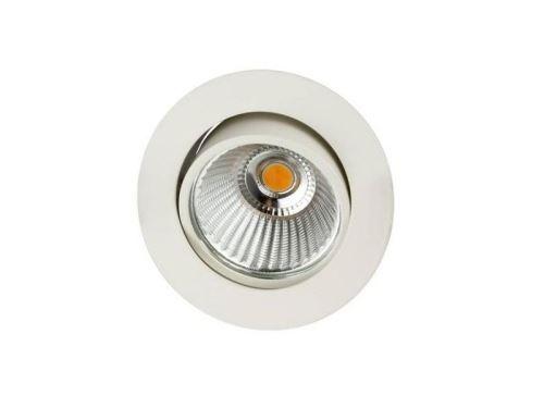 Spot LED Rond 6W 3000K Blanc