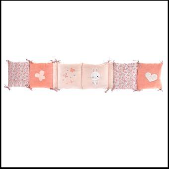 tour de lit bébé 25 cm DOMIVA TOUR DE LIT POUR BÉBÉ 25% coton 75% polyester Chambre bébé  tour de lit bébé 25 cm