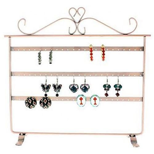 Porte bijoux cadre présentoir boucle d'oreille window (32 paires) Cuivre