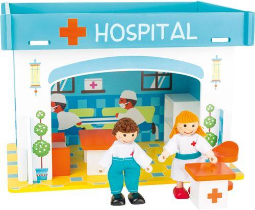 Monde De Jeu Hôpital Et Ses Accessoires
